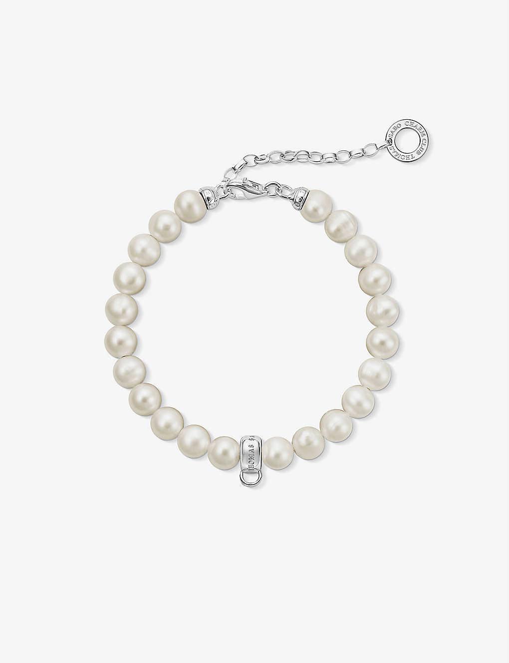 Thomas Sabo Charm Club Pearl Charm Bracelet
