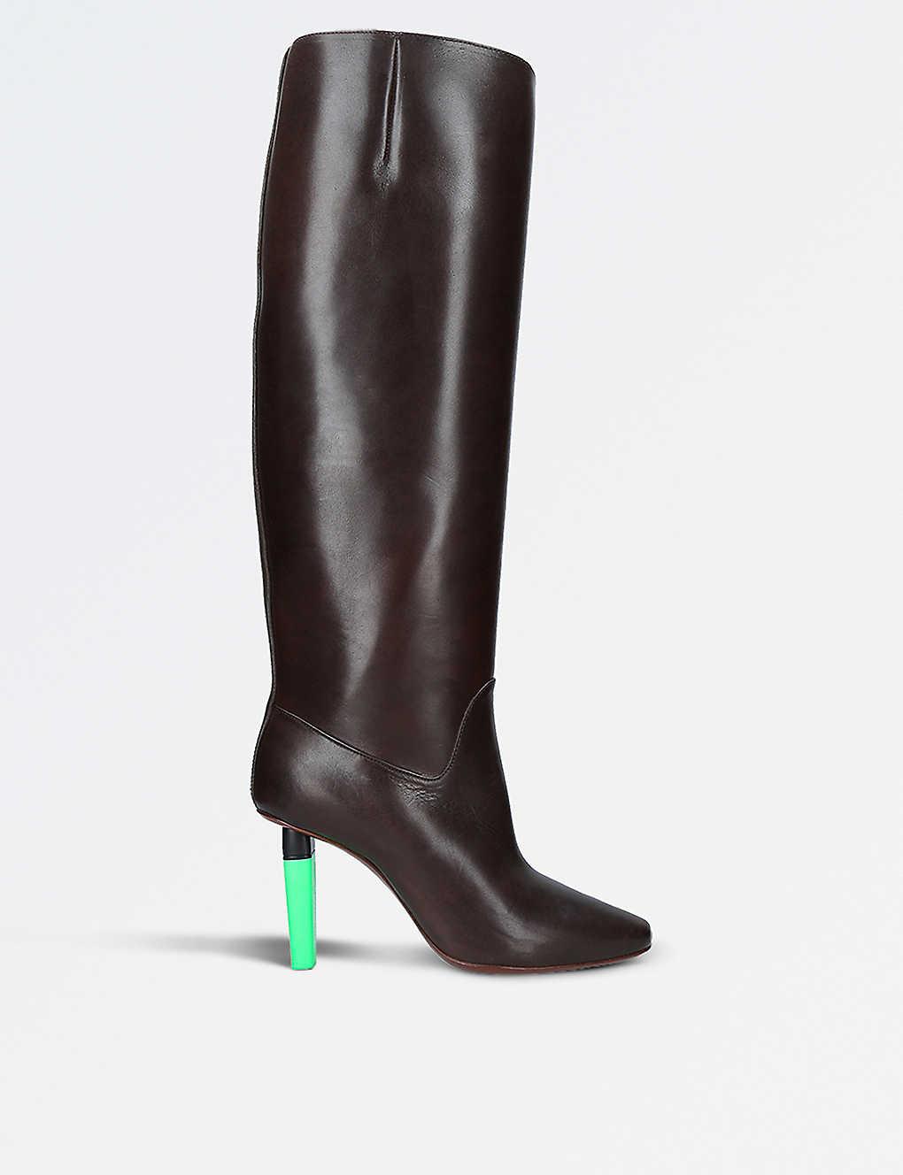 VetementsHighlighter Social Worker Boots