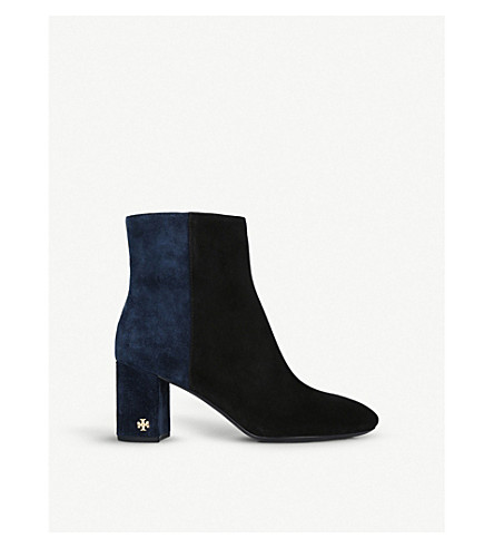 Brooke Suede Boots by Tory Burch