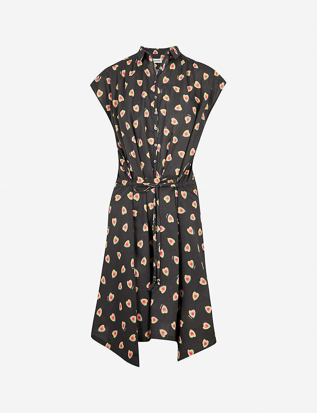 Cotton Requiem Heart Zadig Dress Shirt amp;voltaire Print fg07Iq