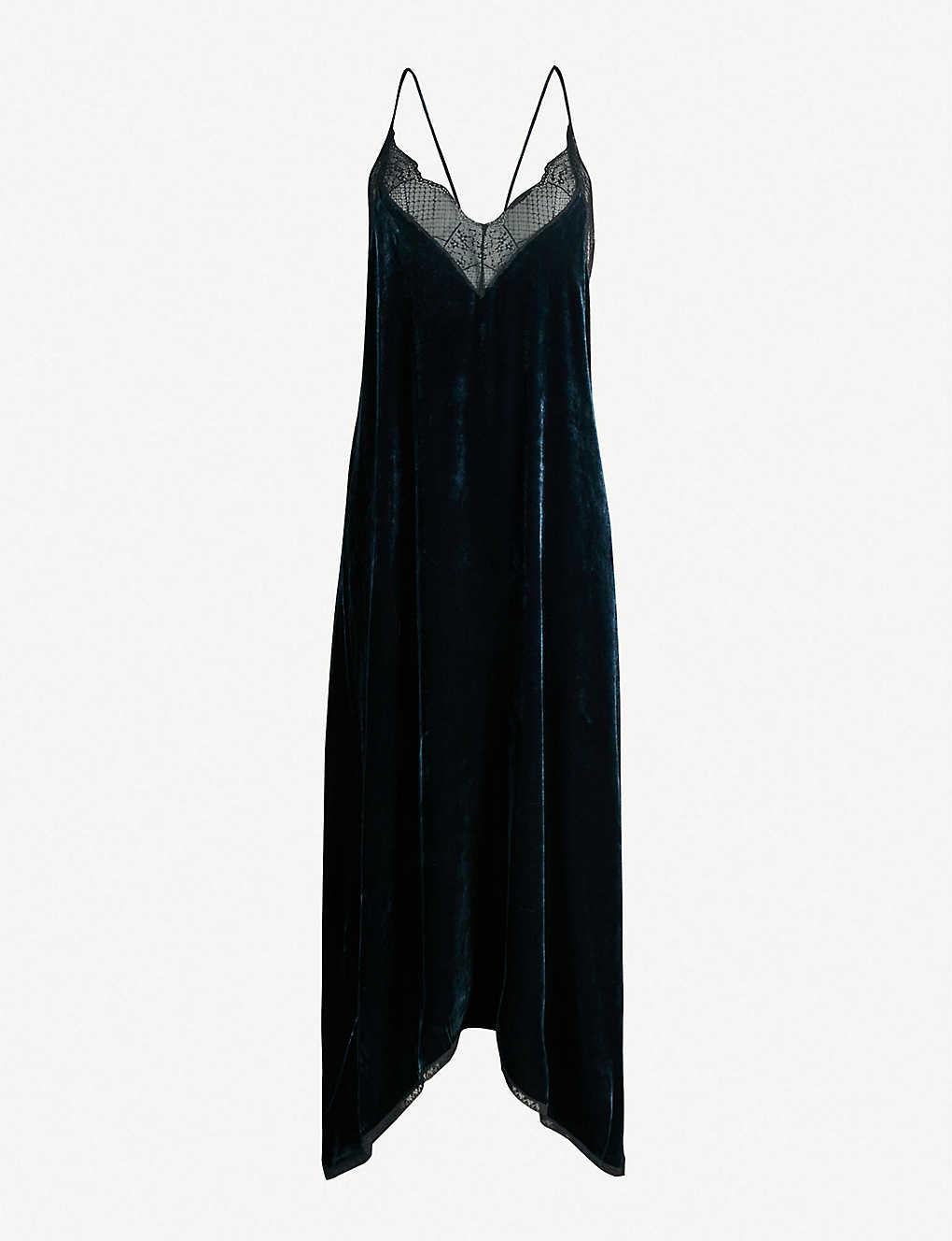 Risty Trim Zadig Dress Lace Velvet amp;voltaire 7fOOwqa