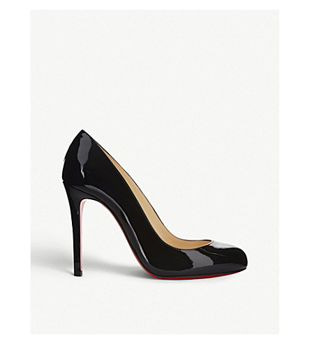 782f3d665aa ... CHRISTIAN LOUBOUTIN Fifille 100 patent calf (Black. PreviousNext