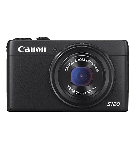 canon-powershot-s120-camera-black-(121mp,-5x-zoom)-3-inch-touch-lcd by canon