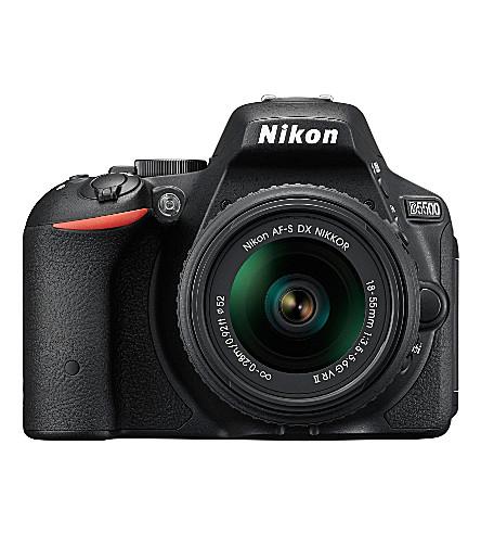 nikon-d5500-and-af-18-55mm-lens by nikon