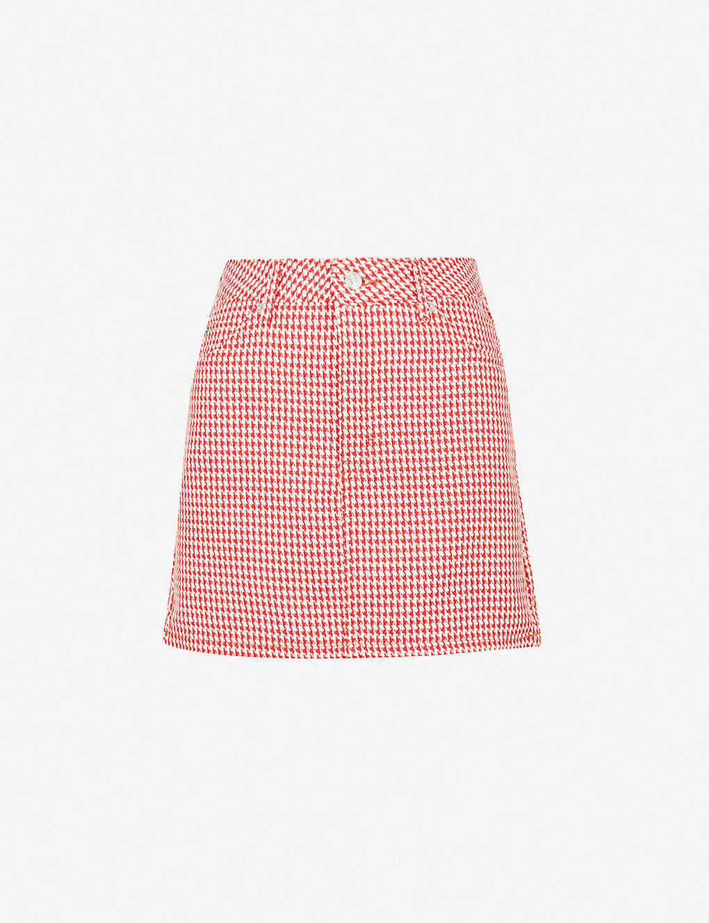 skirt TOPSHOP mini Dogtooth TOPSHOP woven f7gb6y