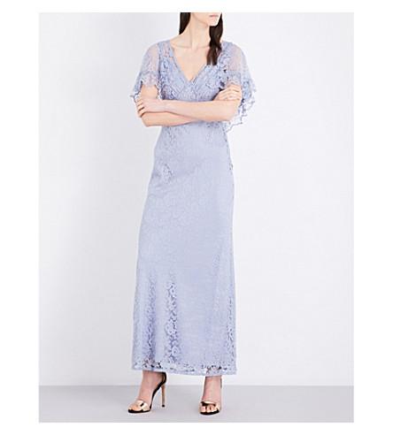 Topshop Cape Lace Maxi Dress Selfridges