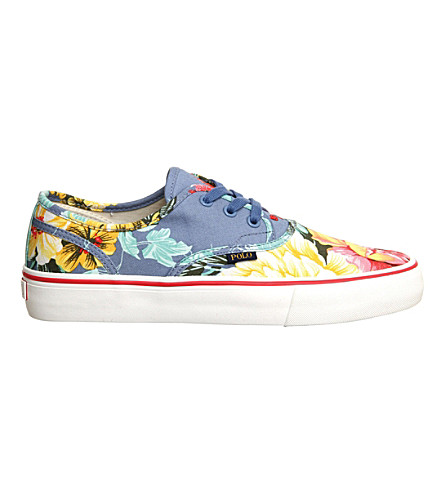 ... POLO RALPH LAUREN Morray Hawaii lace up sneakers (Hawaiian+floral.  PreviousNext