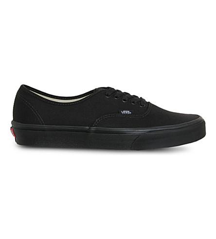 VANS Authentic low-top sneakers (Black+mono 72682ba4b