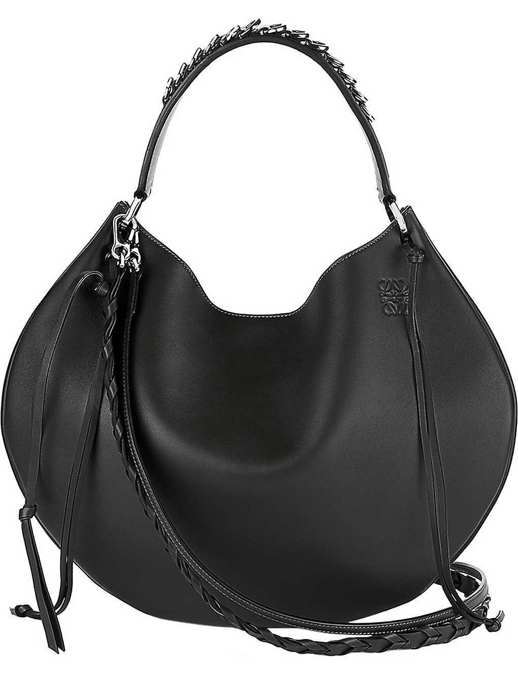 LOEWE - Fortune slouchy leather shoulder bag | Selfridges.com
