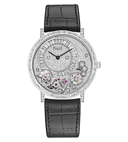 G0 A41122 Altiplano White Gold Diamond Watch by Piaget