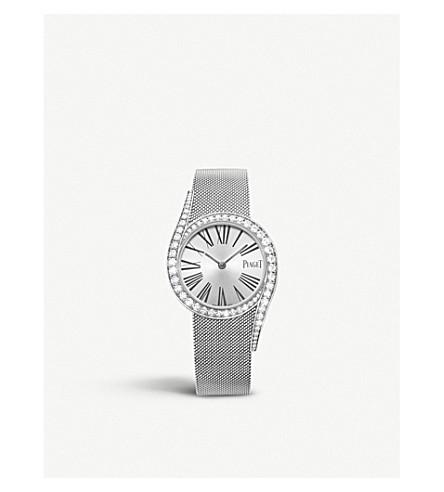 c676a7c01db PIAGET - Limelight Gala 18ct White Gold and diamond bracelet watch ...