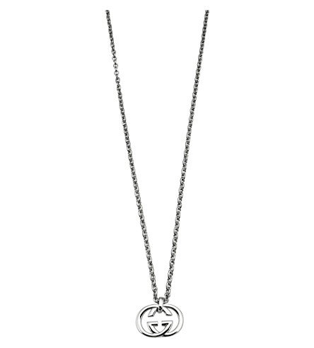 Gucci Interlocking G pendant necklace aBd8G9e
