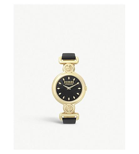 Spol310018 Sunnyridge Gold Toned Stainless Steel Watch by Versus