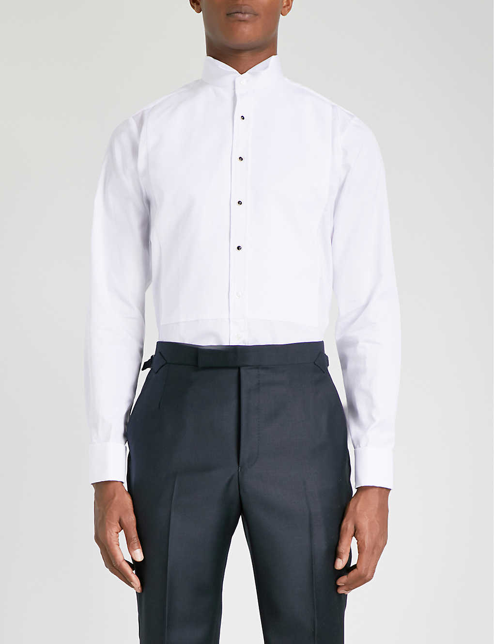 Thomas Pink Wing Evening Super Slim Fit Dc Shirt Selfridges