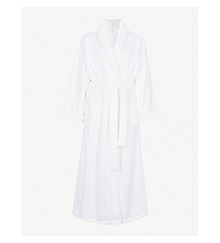 The White Company Cotton Towelling Dressing Gown Selfridgescom