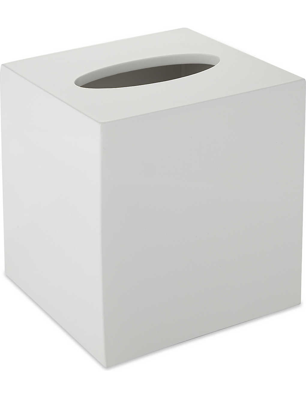 THE WHITE COMPANY - Lacquer tissue box cover 15cm | Selfridges.com