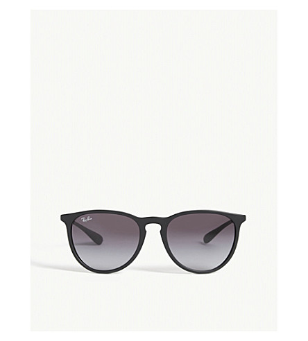 RAY-BAN - Rb4171 rubber round-frame sunglasses   Selfridges.com
