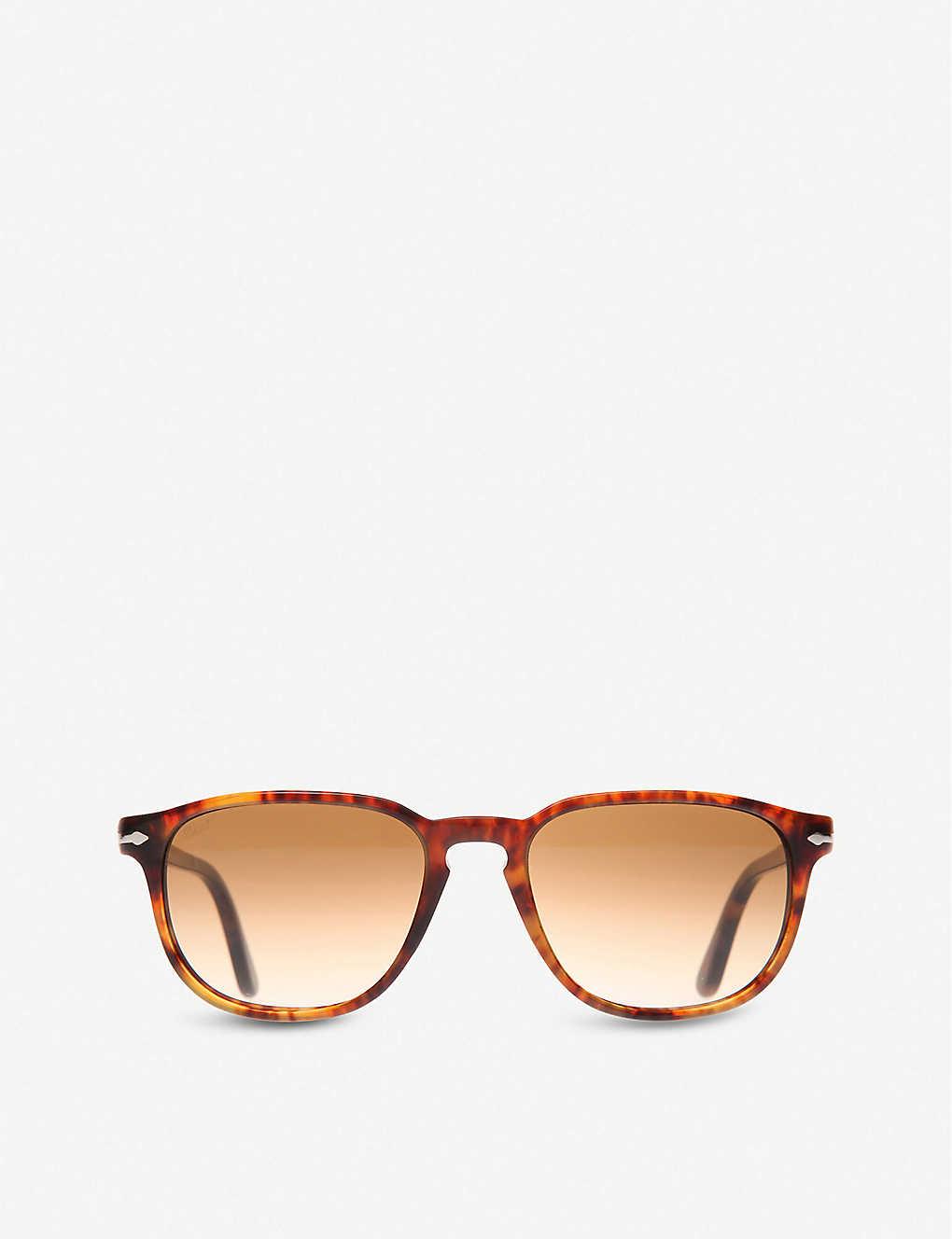 c57b6facc1 PERSOL - Suprema tortoiseshell round-frame sunglasses