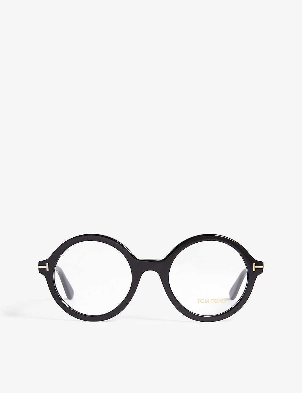 f7aacf6f2e TOM FORD - TF5461 round-frame glasses