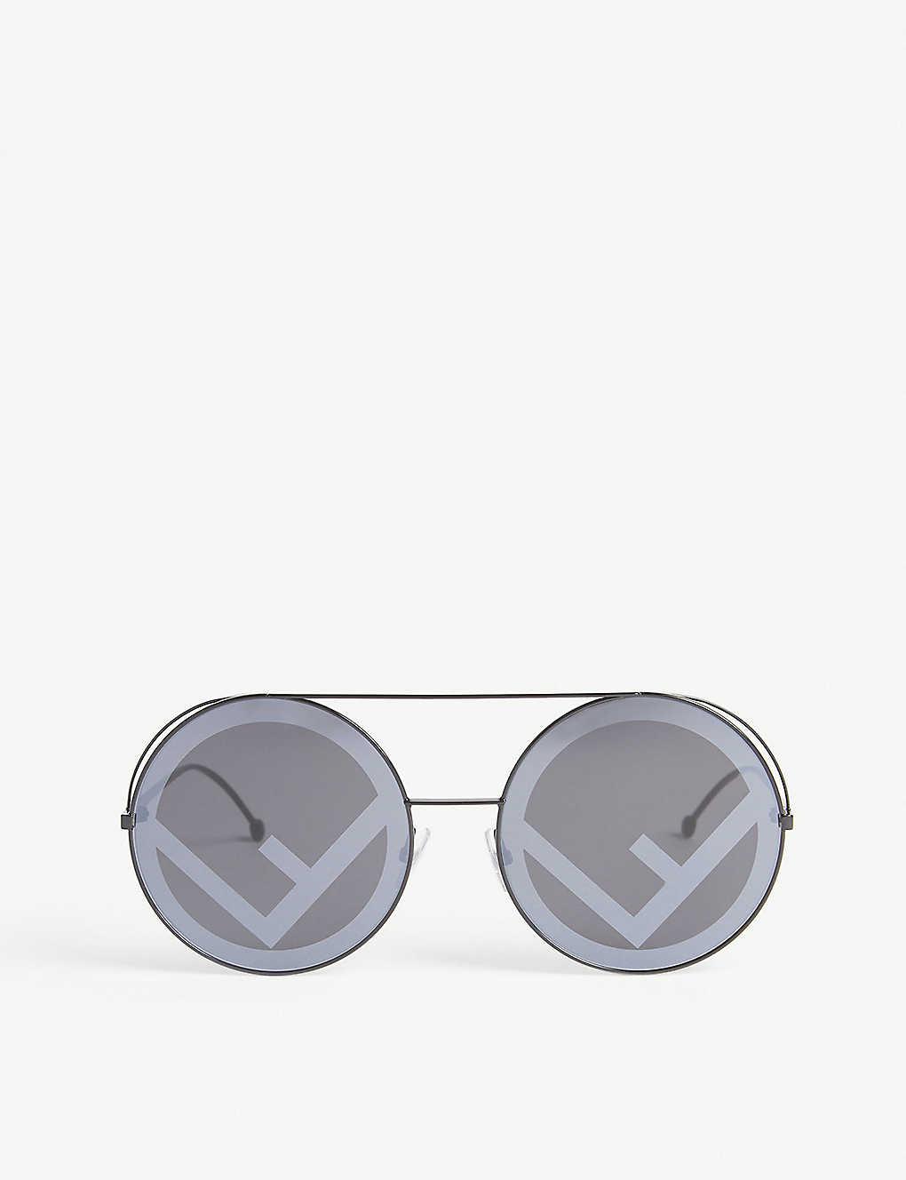 6f787cb7bca FENDI - FF0285 S round-frames sunglasses