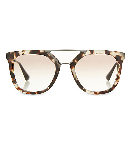 Prada Double Bridge Glasses