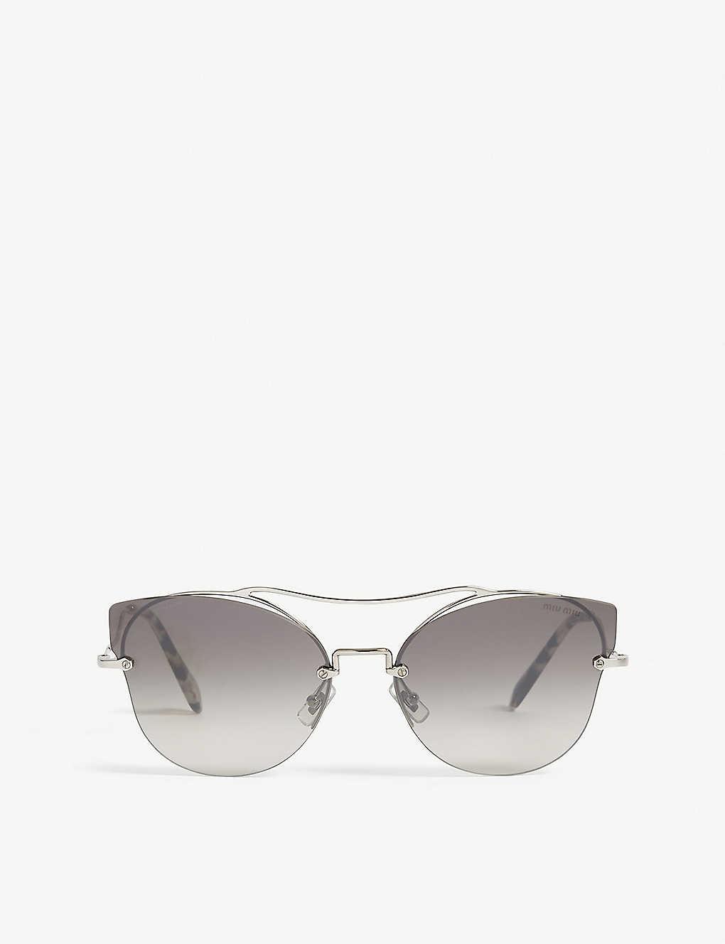 125a3f46d27 MIU MIU - Scenique Mu52S butterfly-frame sunglasses