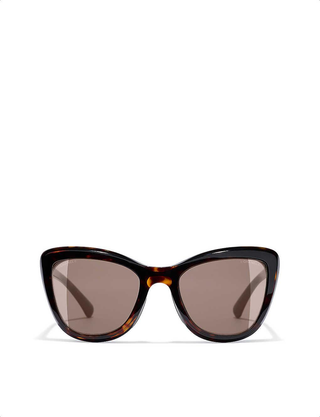CHANEL - Clip On sunglasses | Selfridges.com