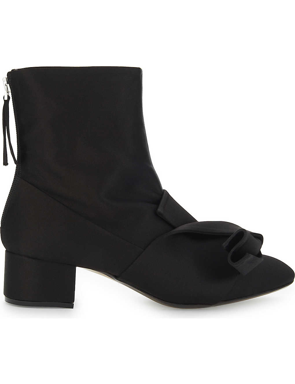 Footaction Sale Online With Paypal Cheap Online No21 Satin ankle boots View For Sale For Sale OXR54naCQj