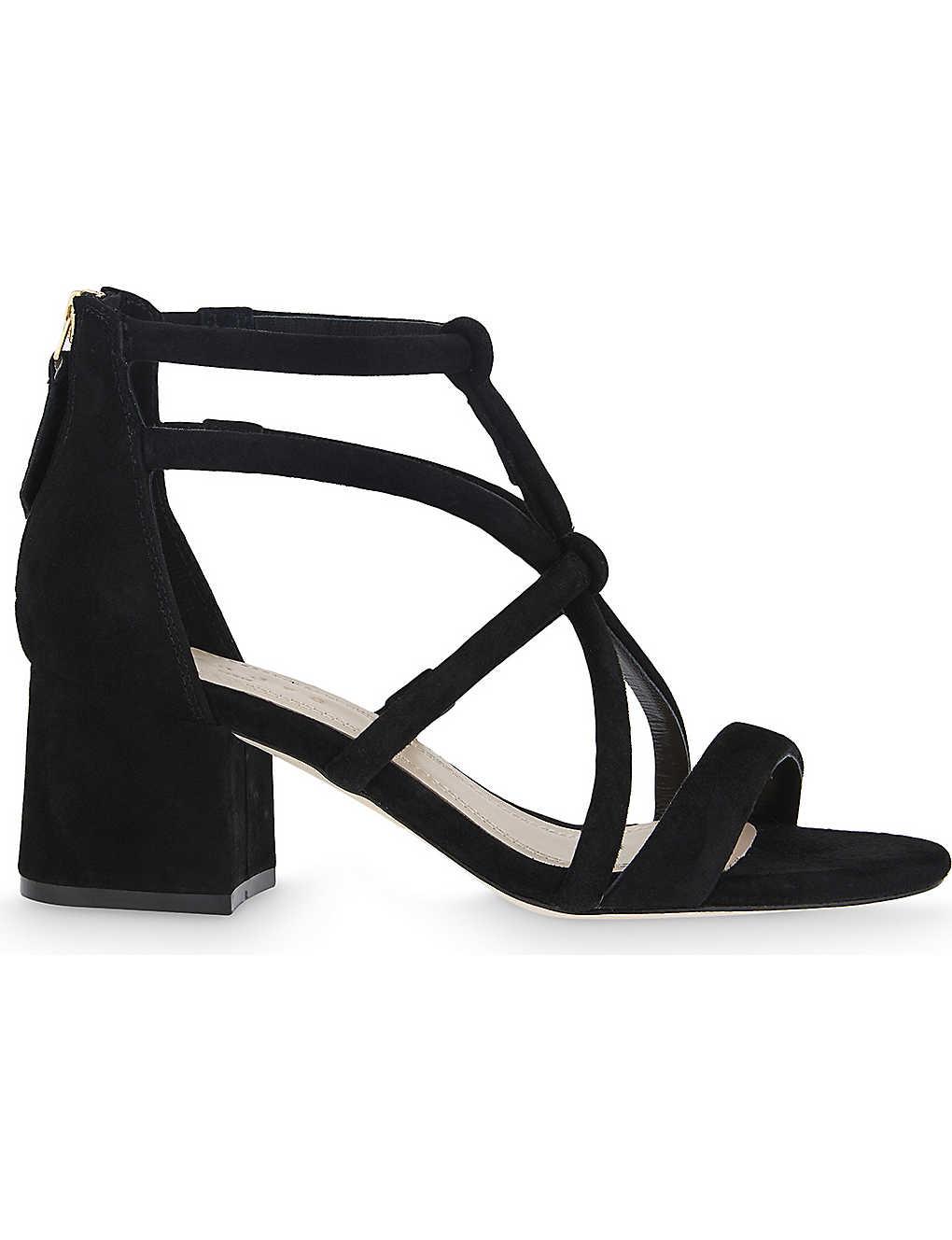 Sandro True Love Suede Sandals