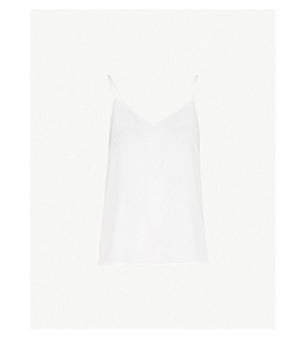 V Neck Crepe Camisole by Sandro