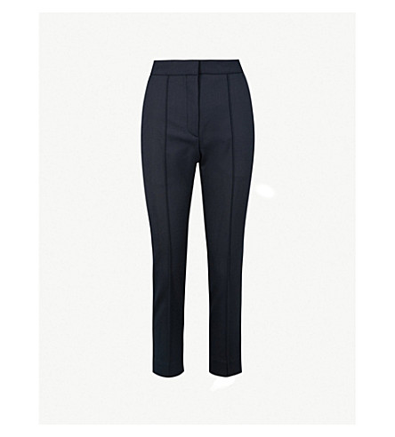 Cropped Woven Trousers by Sandro