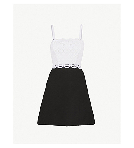 Two Tone Cotton Dress by Sandro