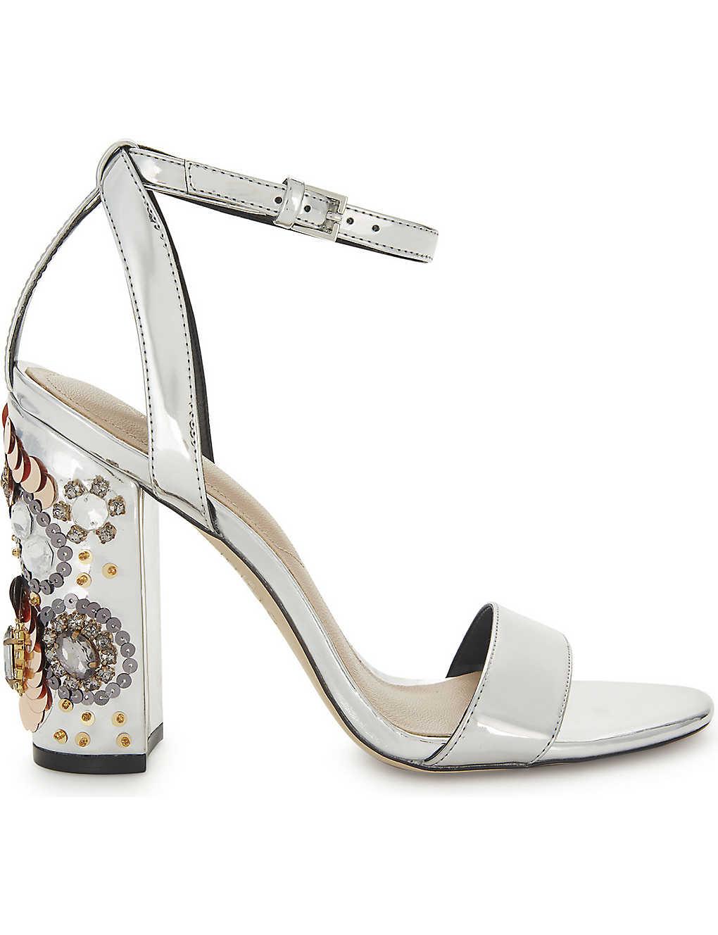 39fe08f2703 ALDO - Luciaa mirrored sandals