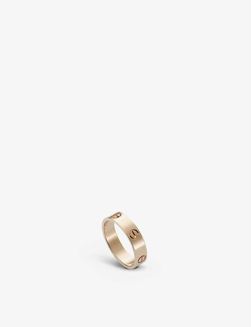 CARTIER LOVE 18ct pinkgold ring