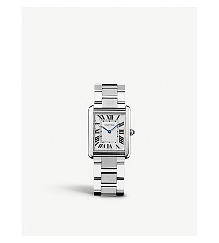 Tank Solo Stainless Steel Watch by Cartier