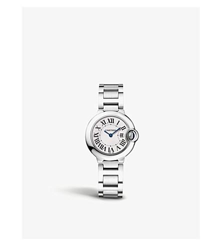 e33d0bced5c CARTIER - Ballon Bleu de Cartier stainless steel watch