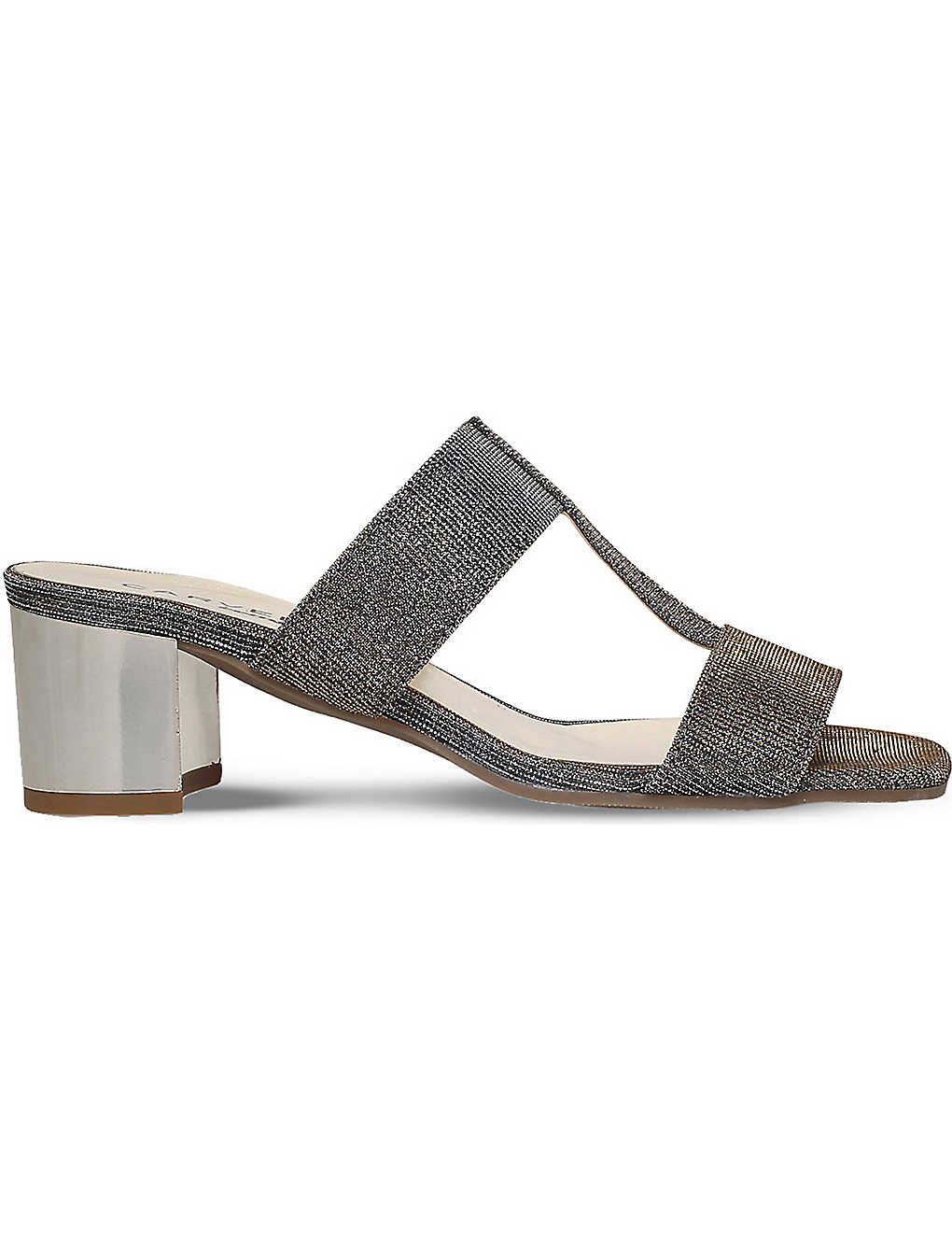 Carvela Comfort Suzy - metallic mid heel sandals Limited Edition Cheap Price Clearance Big Discount A5OkxW