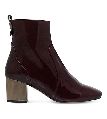 strudel-patent-leather-ankle-boots by carvela