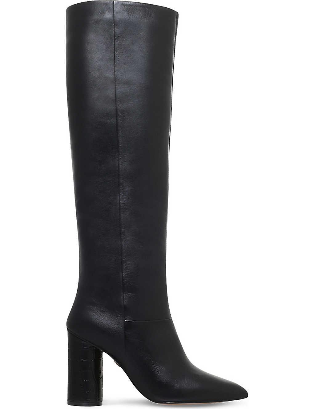 KG KURT GEIGER Trance leather knee-high boots