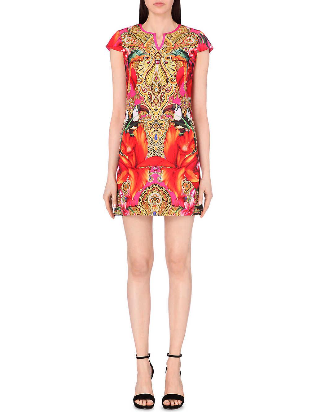 c1f482864600b5 TED BAKER - Aalia paisley toucan tunic dress