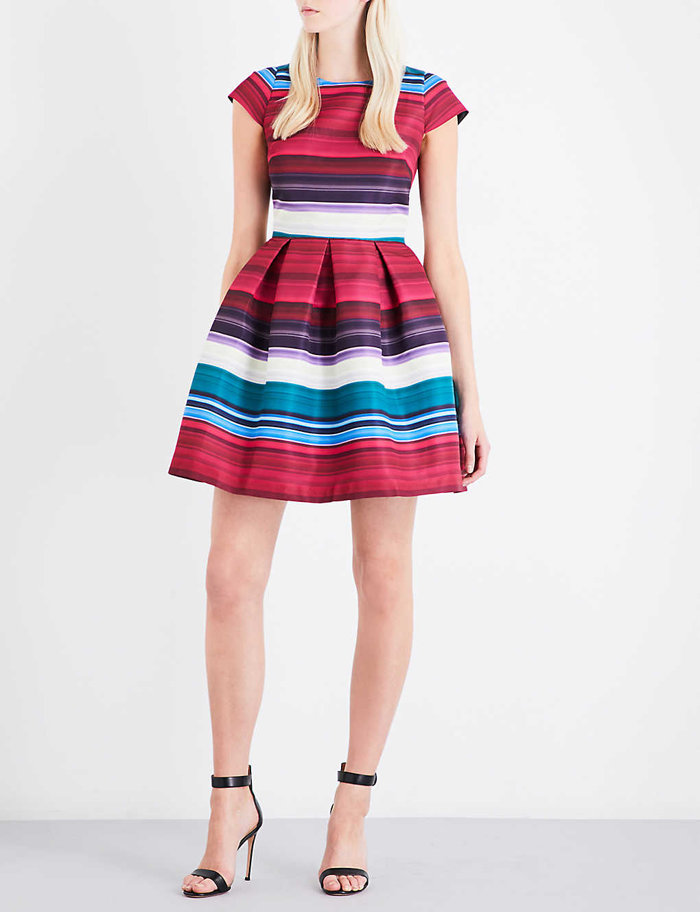 TED BAKER - Blushing Bouquet twill dress  123fce085