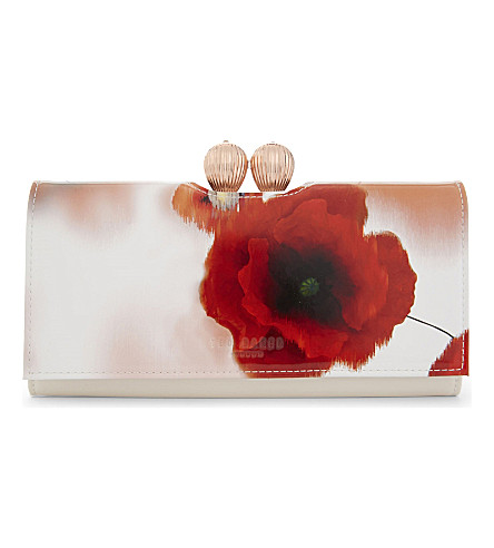 826ce5426d19 ... TED BAKER Dolcie leather matinee purse (Mid+red. PreviousNext
