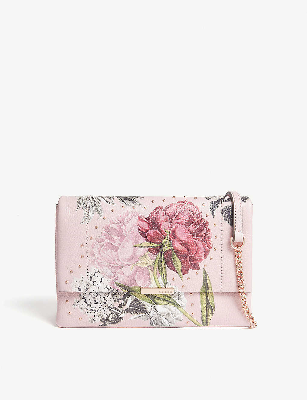 fbe9a1ef2 TED BAKER - Ploomi Palace Gardens leather shoulder bag