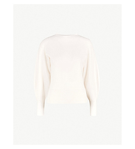 Bell Sleeve Cashmere Sweater by Ted Baker