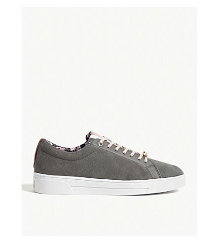 Ailiz Suede Tennis Sneakers by Ted Baker