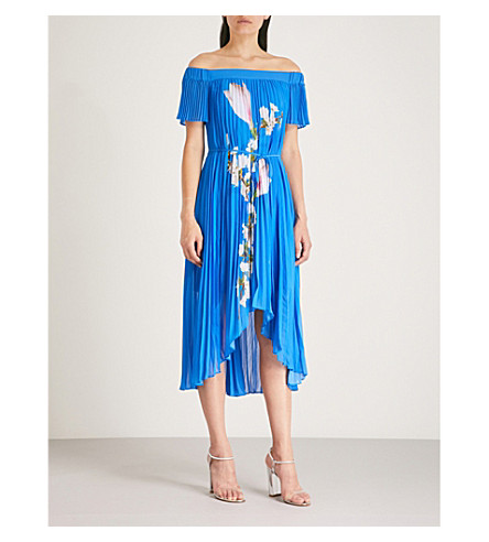 Melma Harmony Print Chiffon Maxi Dress by Ted Baker