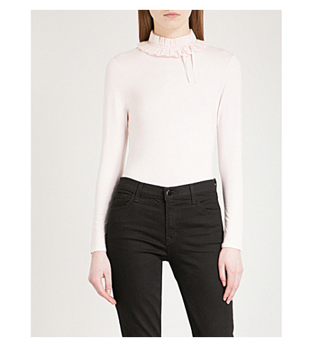 Accordian Pleated Jersey Top by Ted Baker