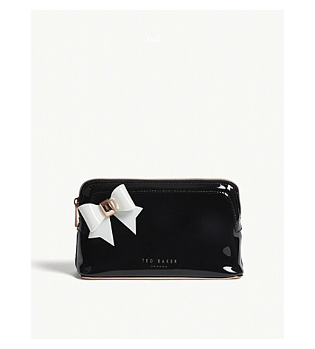 Aubrie Bow Make Up Bag by Ted Baker