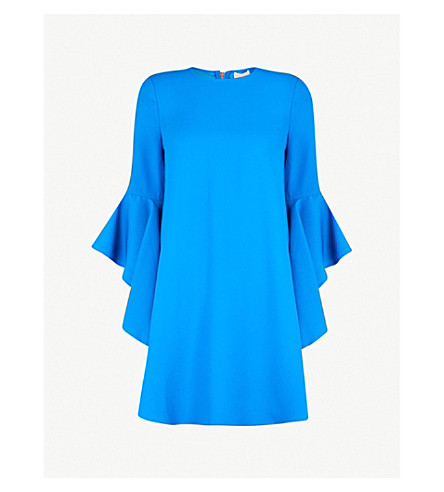 Ashleyy Waterfall Sleeve Crepe Dress by Ted Baker