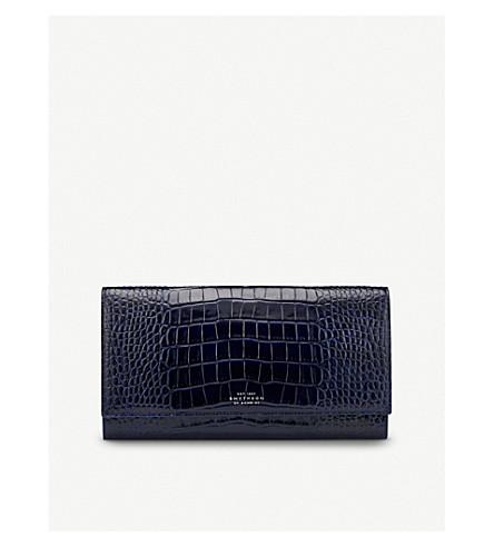 Mara Leather Travel Wallet by Smythson
